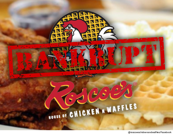 Roscoe S Chicken N Waffles Parent Co File Bankruptcy